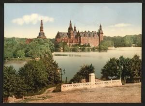 Fredericksborg Castle, Copenhagen, Denmark